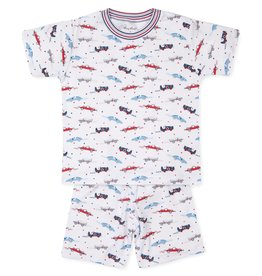 Kissy Kissy Short PJ Set (Snug) Reckless Racecars