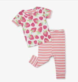 Hatley Delicious Berries Baby SS PJ Set Moon Goddess