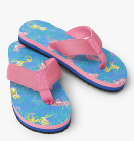 Hatley Jungle Cats Flip Flops Amparo Blue