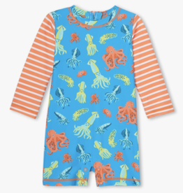 Hatley Colorful Octopus Baby Rashguard Malibu Blue
