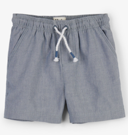 Hatley Chambray Baby Woven Shorts Lake Life