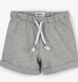 Hatley Grey French Terry Baby Short Athletic Grey