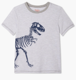 Hatley T-Rex Graphic Tee Athletic Grey