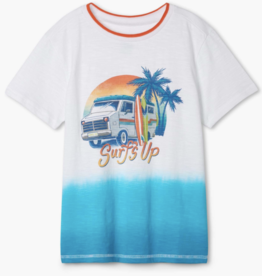 Hatley Surf Holiday Graphic Tee White