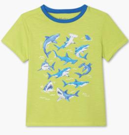 Hatley Deep Sea Sharks Graphic Tee Love Bird