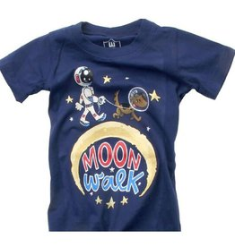 Wes And Willy Moon Walk SS Tee Midnight