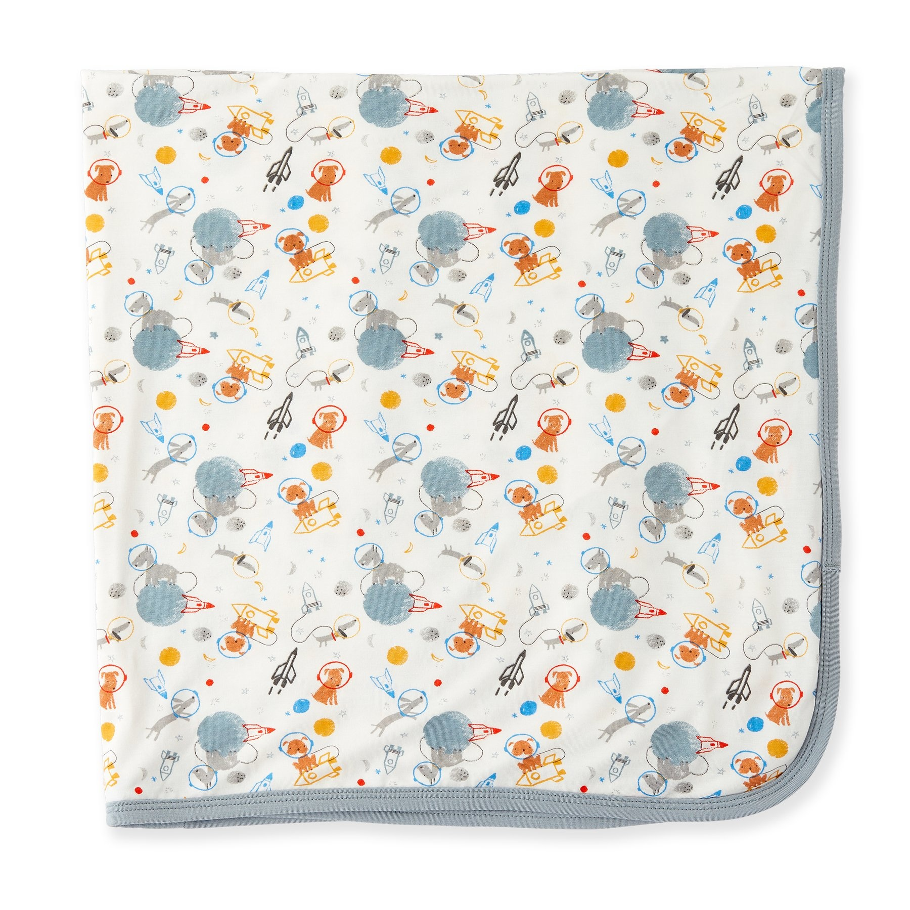 Magnificent Baby Astro Pups Modal Swaddle Blanket