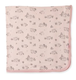 Magnificent Baby Koala Cuddles Pink Modal Swaddle Blanket