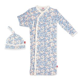 Magnificent Baby Somebunny Magnetic Gown & Hat Set