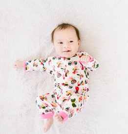 Magnificent Baby Flitter Flutter Magnetic Coverall