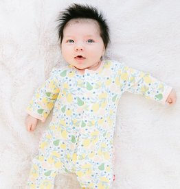 Magnificent Baby Citrus Bloom Magnetic Coverall