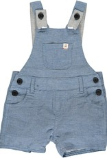 Me & Henry Bowline Shortie Overalls Chambray
