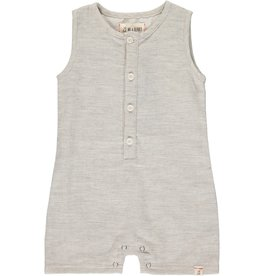 Me & Henry Sandy Playsuit Pale Grey