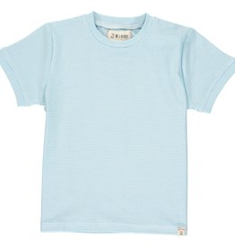 Me & Henry Camber Tee Blue Micro Stripe