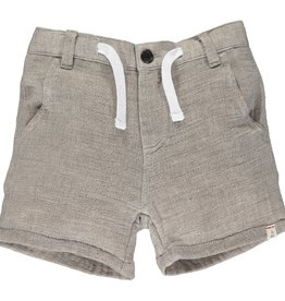 Me & Henry Crew Gauze Shorts Brown