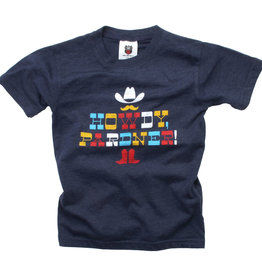 Wes And Willy Howdy Pardner SS Tee Midnight Blend