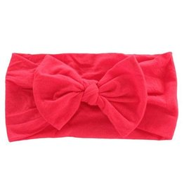 Mila & Rose Ladybug Red Nylon Bow Headwrap