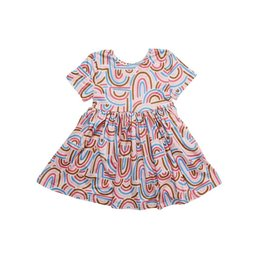 Mila & Rose Groovy Girl SS Twirl Dress