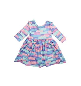 Mila & Rose Real Retro Pocket Twirl Dress