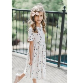 Mila & Rose Rollin Rainbow SS Twirl Dress