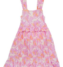 Feather 4 Arrow Prism Pink Sunset Vibes Dress