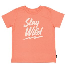 Feather 4 Arrow Coral Crush Stay Wild Vintage Tee