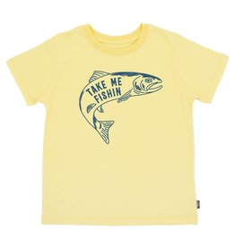 Feather 4 Arrow Take Me Fishin' Vintage Tee