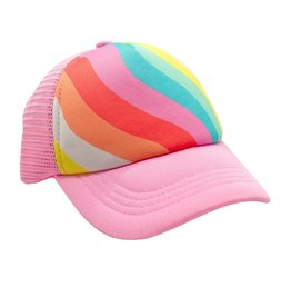 Feather 4 Arrow Rainbow Wave Hat