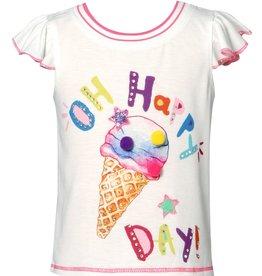 Hannah Banana/Baby Sara Oh Happy Day Print Top