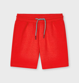 Mayoral Basic Fleece Shorts Cyber Red