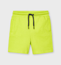 Mayoral Basic Fleece Shorts Green