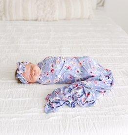 Posh Peanut Samantha Infant Swaddle & Headwrap Set