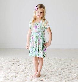 Posh Peanut Erin SS Basic Twirl Dress