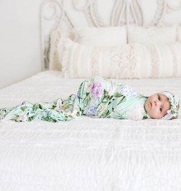 Posh Peanut Erin Infant Swaddle & Headband Set