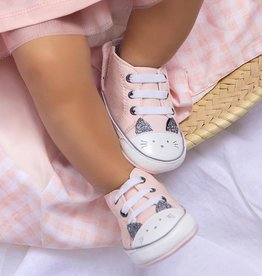 Mayoral Kitty Sneakers Pale Blush