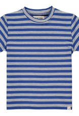Me & Henry Camber Tee Royal/Grey Stripe