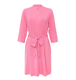 Posh Peanut Solid Pink Lemonade Mommy Robe