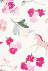Joules Razamataz Unicorn Floral Print Footie