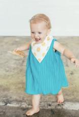 Copper Pearl Blush Baby Bandana Bib Set 4pk
