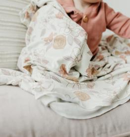 Copper Pearl Ferra Knit Blanket Single