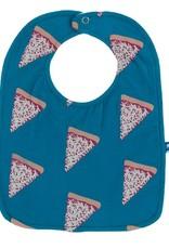 Kickee Pants Bib Set (Cherry Pie Take Out/Blue Veggies/Seaport Pizza)