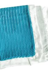 Rockin Royalty Teal Waves Blanket (Full Size)