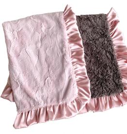 Rockin Royalty Dusty Rose Blanket (Full Size)
