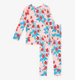 Posh Peanut Strawberry Long Sleeve Basic Pajamas
