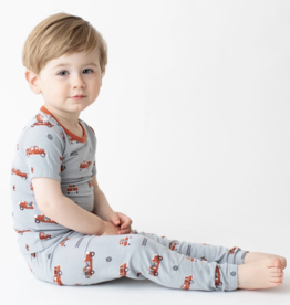 Bestaroo Fire Trucks Pajama Set
