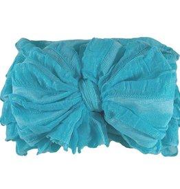 In Awe Couture Ruffle Headband Lagoon