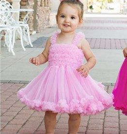 Ruffle Butts/Rugged Butts Pink Princess Petti Dress