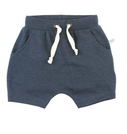 Ruffle Butts/Rugged Butts Heather Navy Jogger Shorts