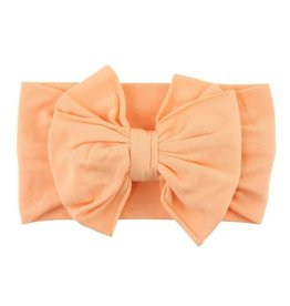 Ruffle Butts/Rugged Butts Melon Big Bow Headband ONE SIZE