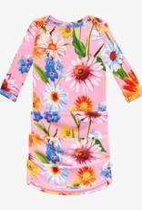 Posh Peanut Kaileigh Basic Zippered Gown 0/3M